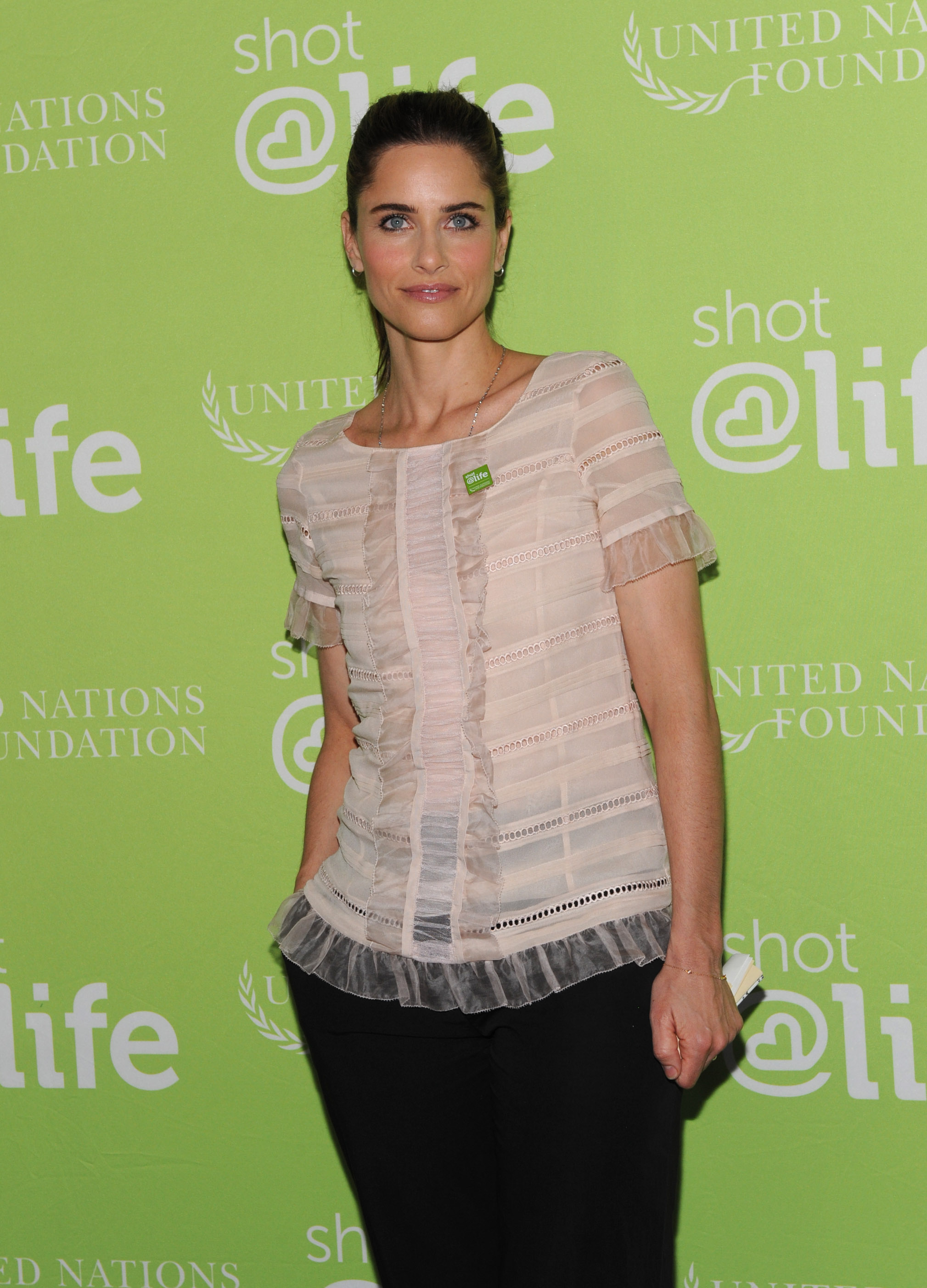 Actor, mother and Every Child By Two Vaccine Ambassador Amanda Peet joins the Shot@Life campaign to advocate for global vaccine access and help mothers in developing countries protect their children from deadly diseases with life-saving vaccines. (Photo by Diane Bondareff for UN Foundation)
