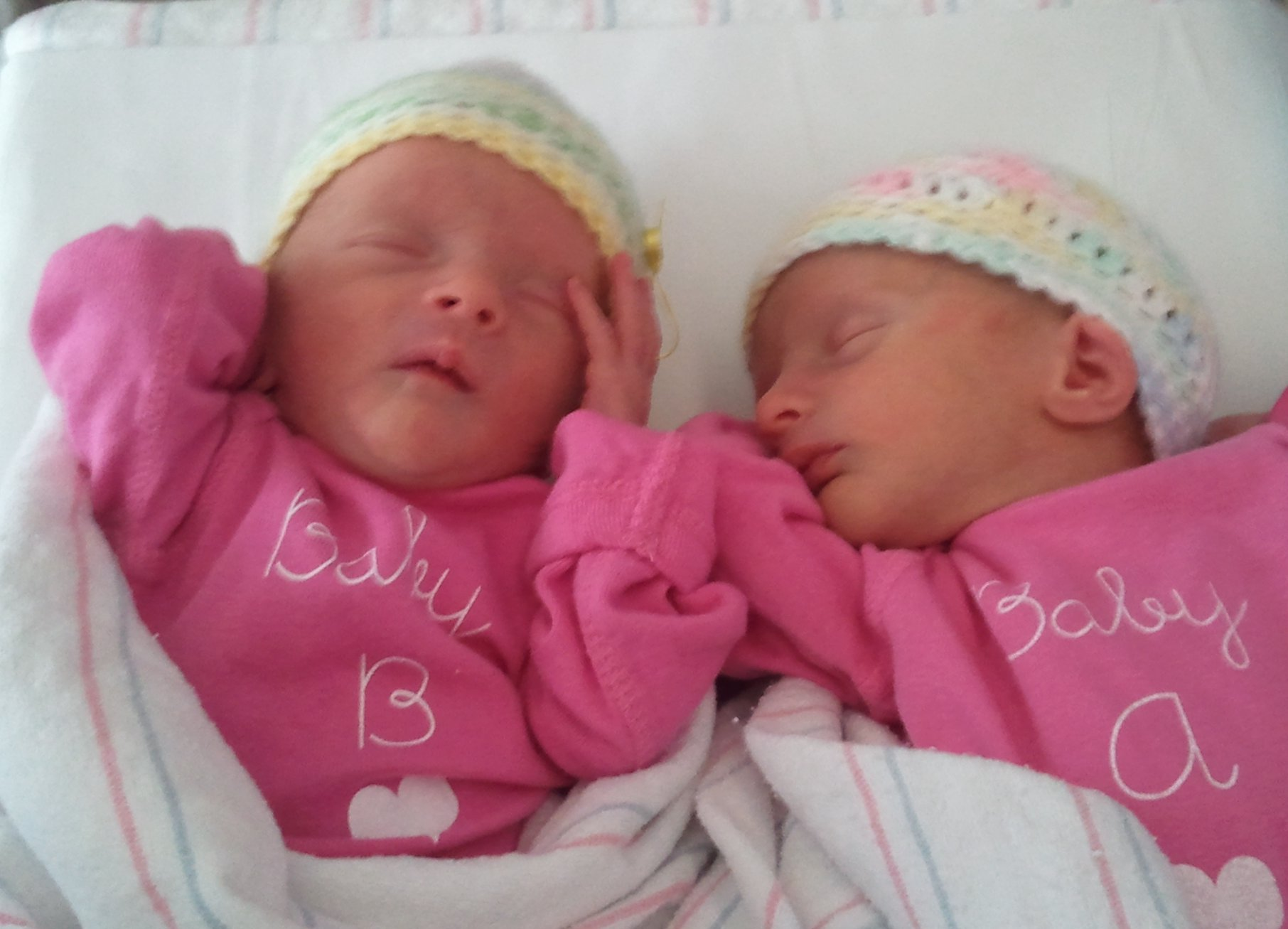 Kate and ellie are twin girls who were born healthy and happy on january 5 2012 as recommended they received their dtap vaccine at two months of age
